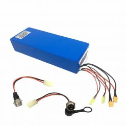 60V Electric Scooter Battery with double charging ports fast charging Lithium Battery Pack 67.2V  Ebike Scooter Battery 1