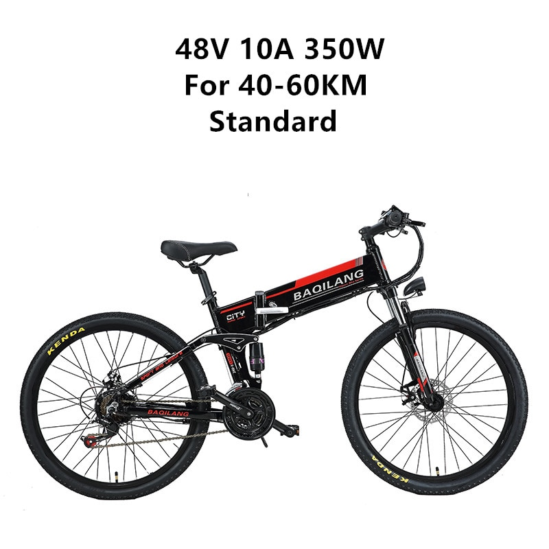 X-front 48V 350W 10 12.8A Lithium Battery Mountain Electric Bike 27 Speed moto Electric Bicycle downhill 26 inch Foldable ebike 7